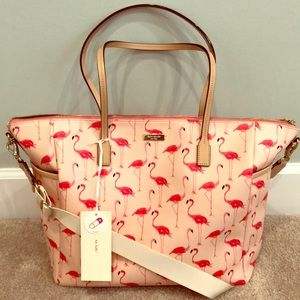 Kate Spade Shore Street Adaira Flamingo Baby Bag